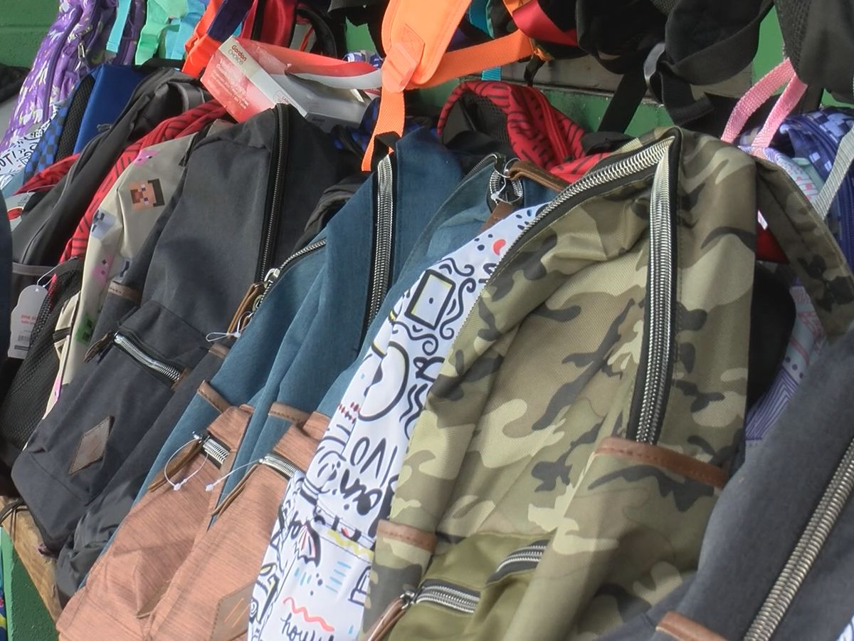 10th annual Bluffton Back to School holds drive-thru supply giveaway