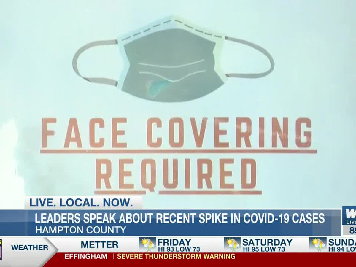 Hampton Co. leaders speak about recent rise in COVID-19 cases