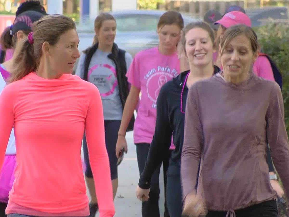 Savannah residents participate in Susan G. Komen's virtual 'Race for the Cure'