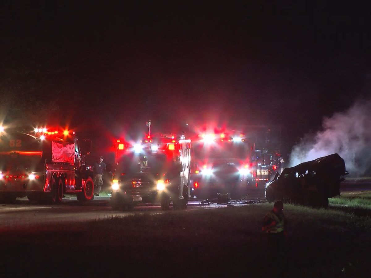 Pooler PD investigating deadly, fiery crash on I-16