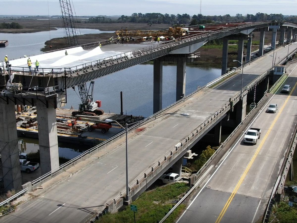 More traffic changes ahead this summer for the new Islands Expressway bridge