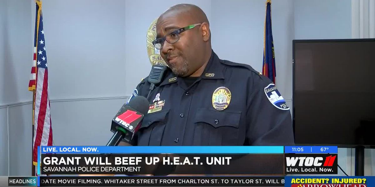Grant will beef up Savannah PD's H.E.A.T. Unit
