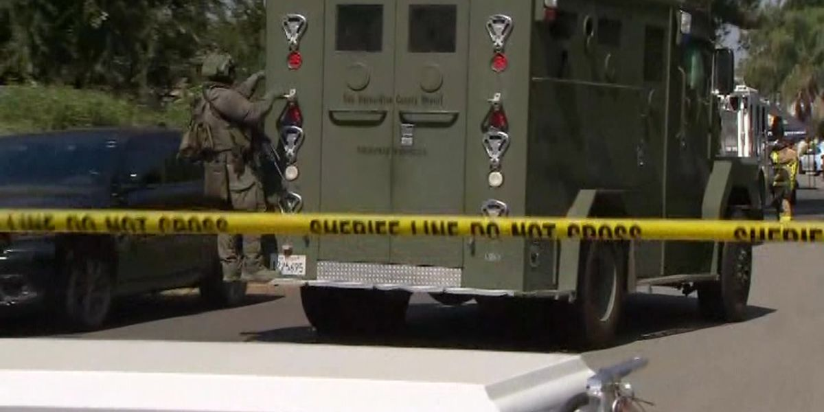 Police: California suspect lights mom on fire, surrenders