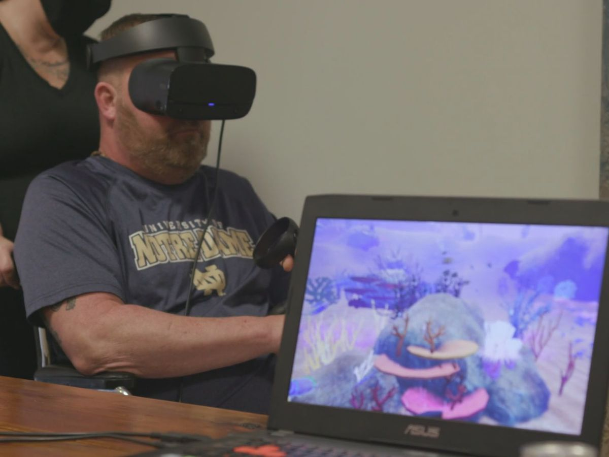 VR for Good: Virtual reality program helping hospice patients