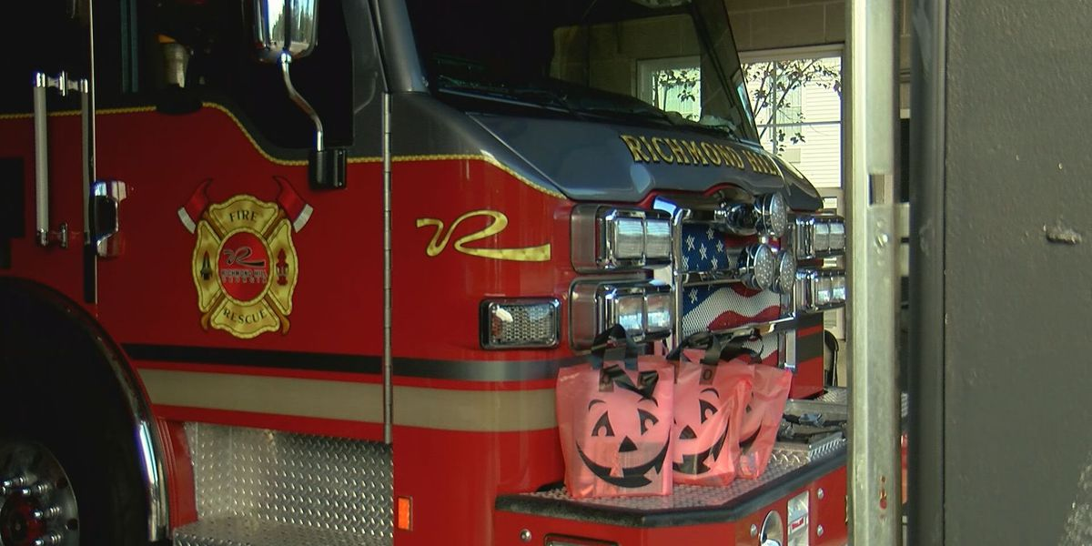 Candy bags available at Richmond Hill fire stations for Halloween