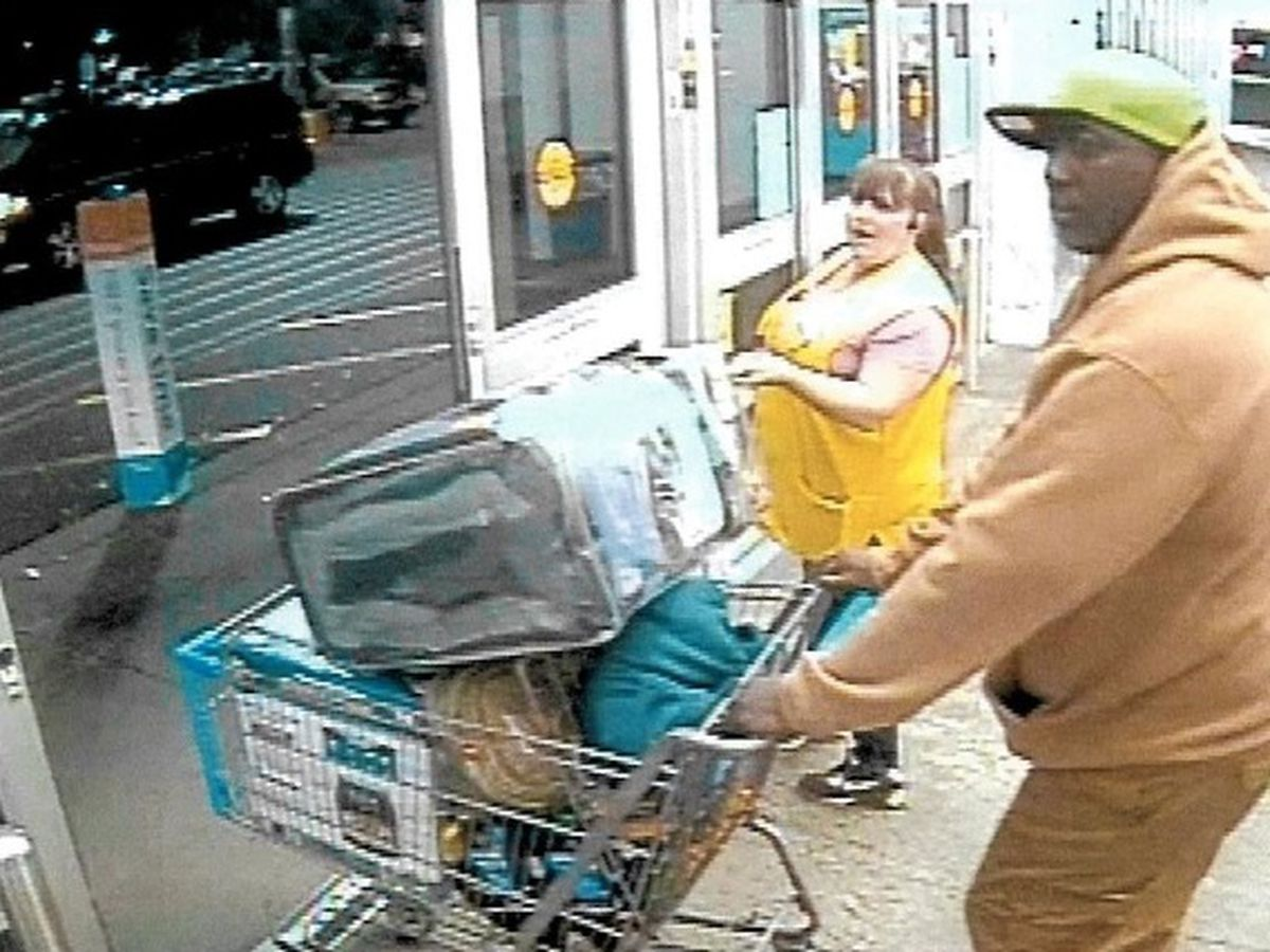 CCPD looking for man suspected of stealing electronics from local stores