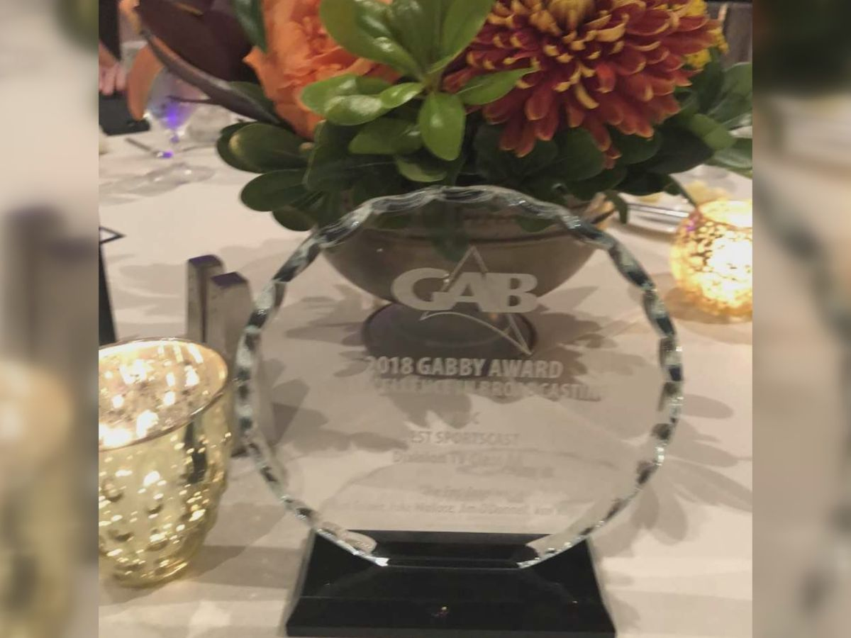 WTOC wins two GABBY awards at annual ceremony