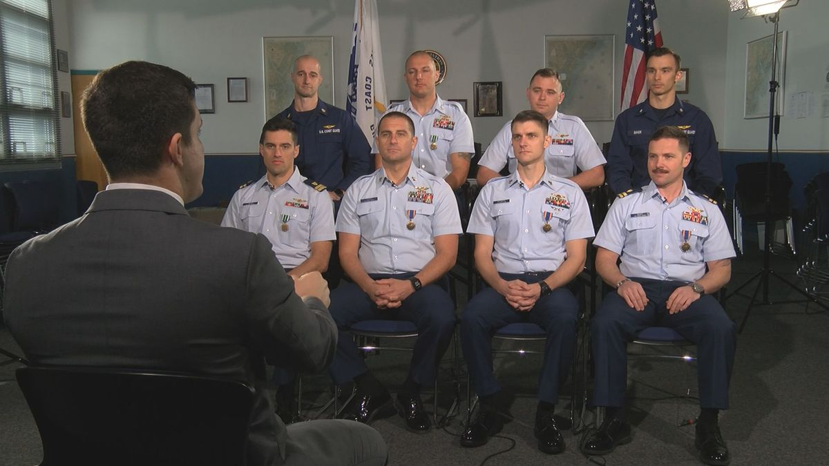 Coast Guard crew shares memories of heroic Golden Ray rescue