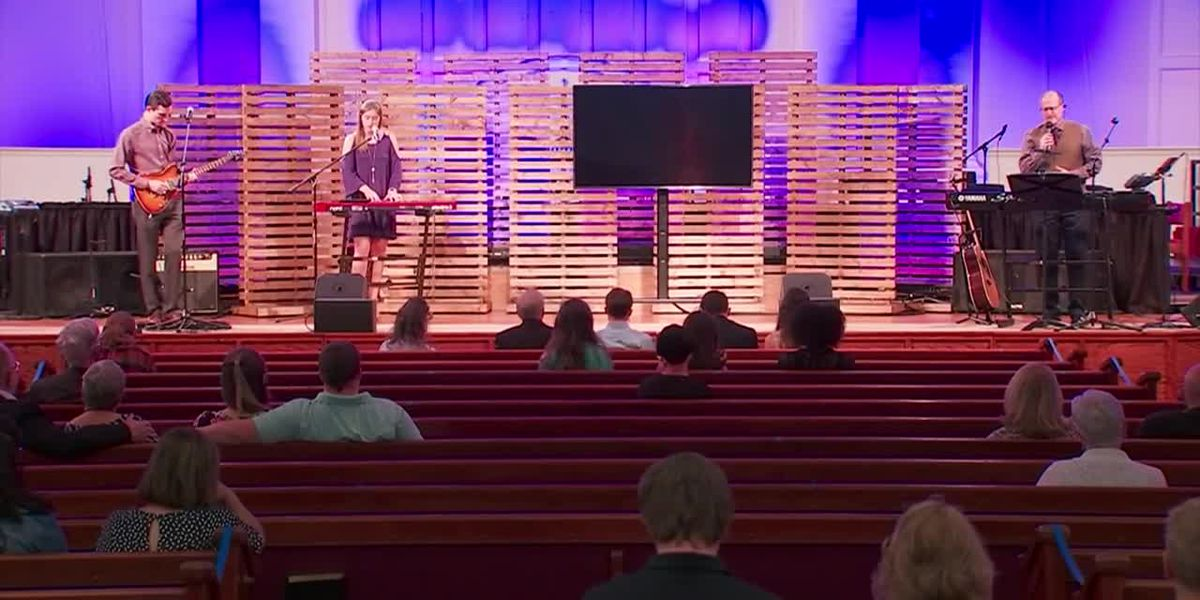 Some churches resume in-person service