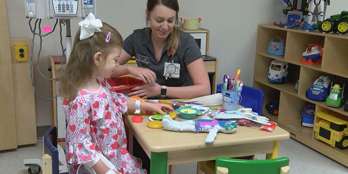 Brave 5-year-old perseveres at Memorial Health