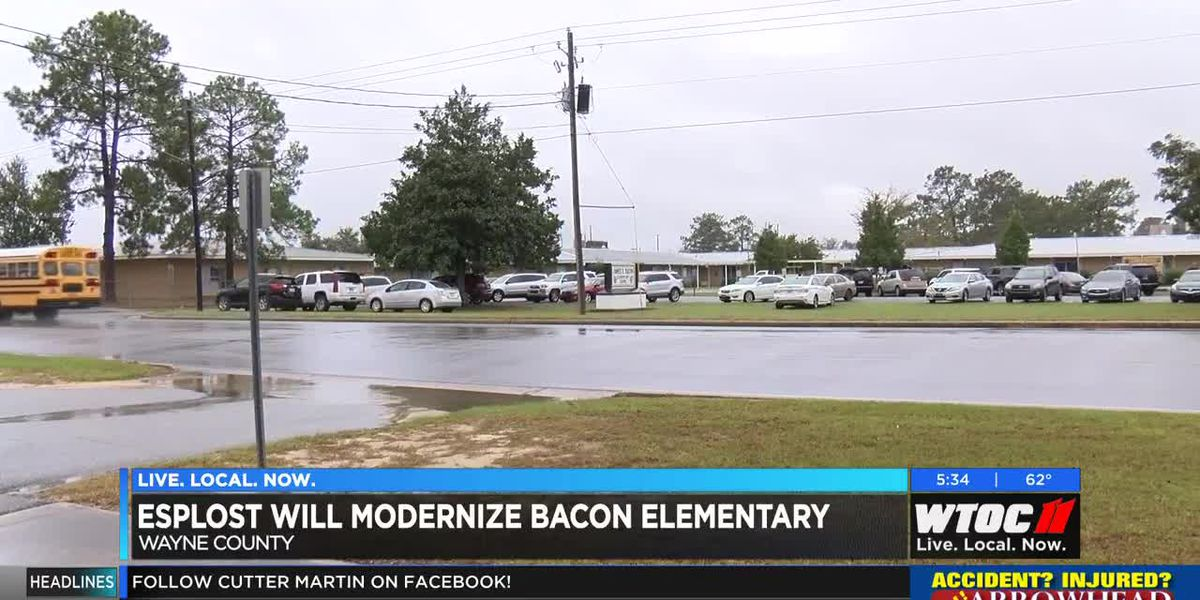 ESPLOST will modernize Bacon Elementary in Wayne County