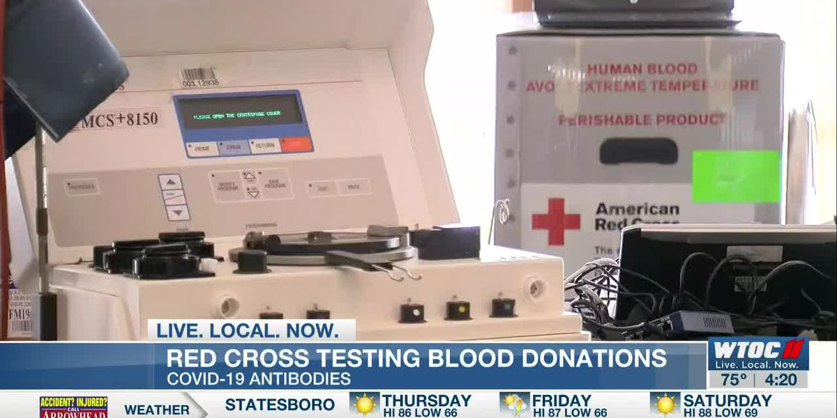 Red Cross testing blood donations for COVID-19 antibodies