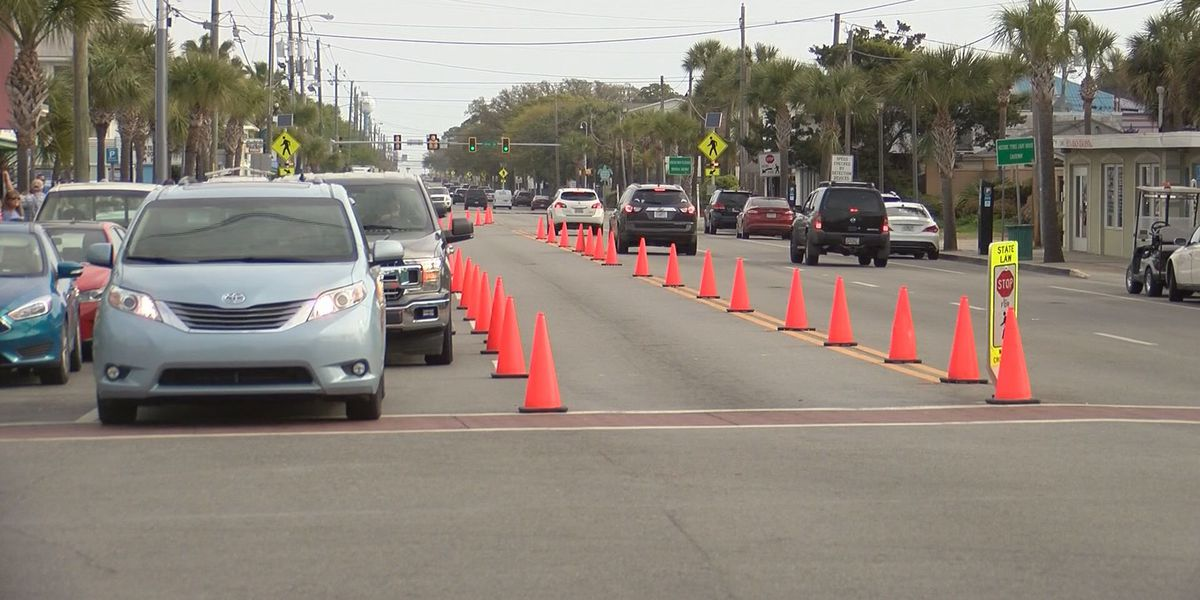 Tybee Island implements traffic controls during busy spring season