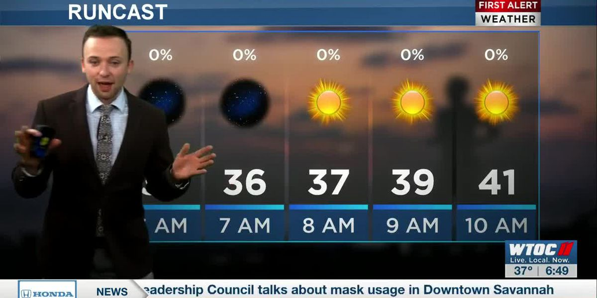 VIDEO: Brisk Tuesday in the forecast