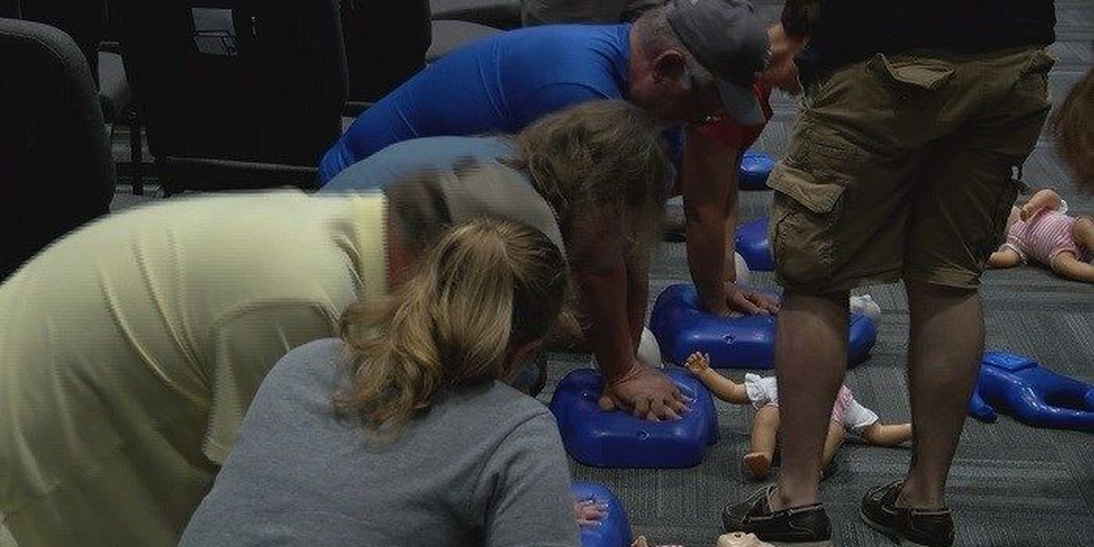CPR training held at Pooler church
