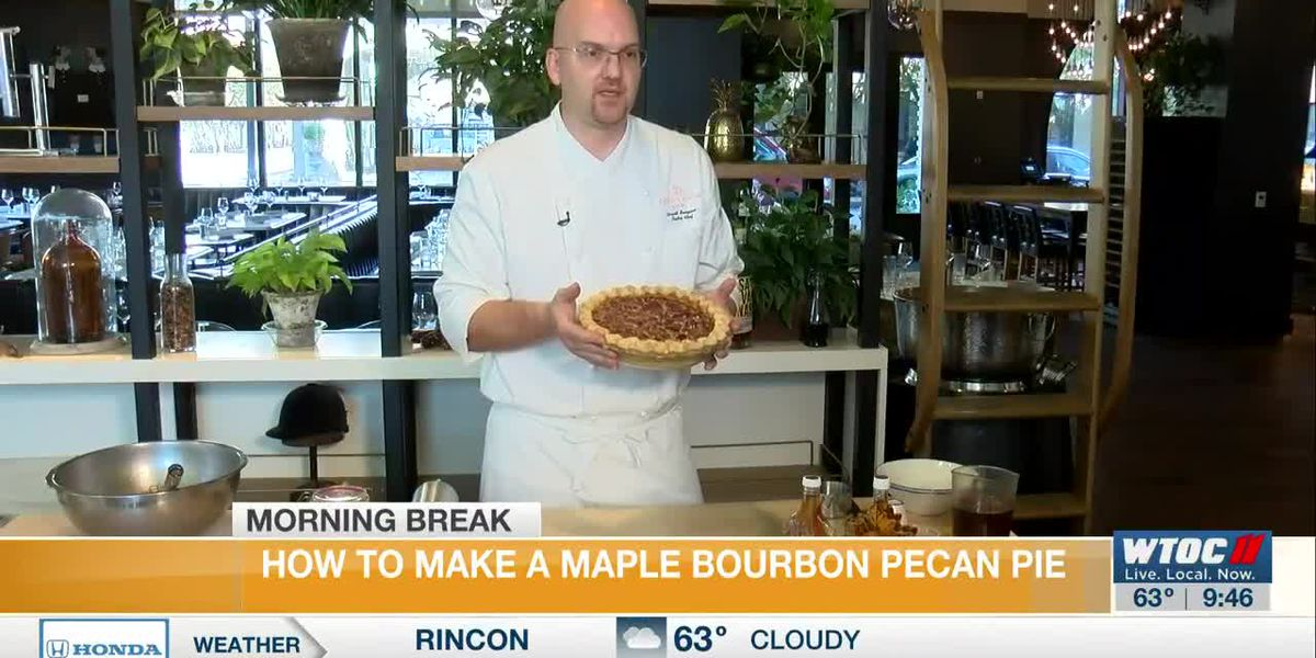 How to Make Maple Bourbon Pecan Pie