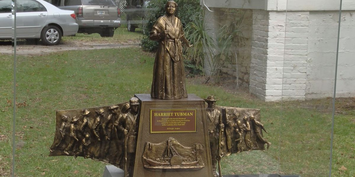 Model unveiled for new Harriet Tubman monument in Beaufort