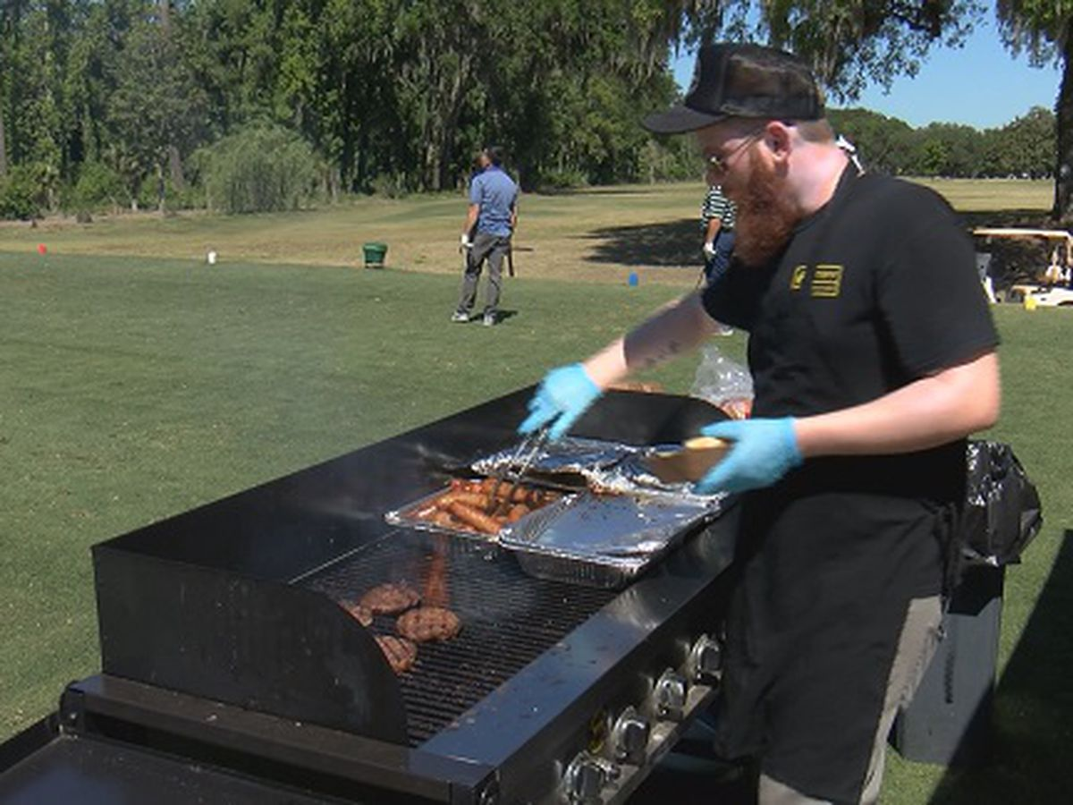'Great Balls of Fire' charity golf tournament held in Bacon Park