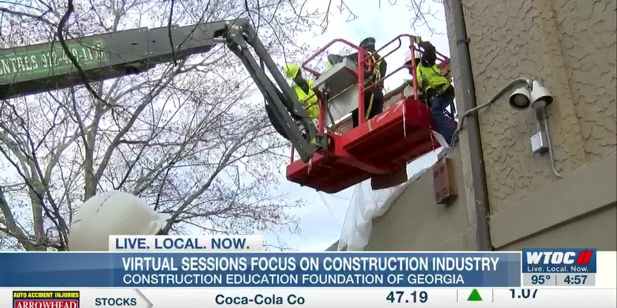 Virtual Sessions Educate Students, Parents on Construction Industry