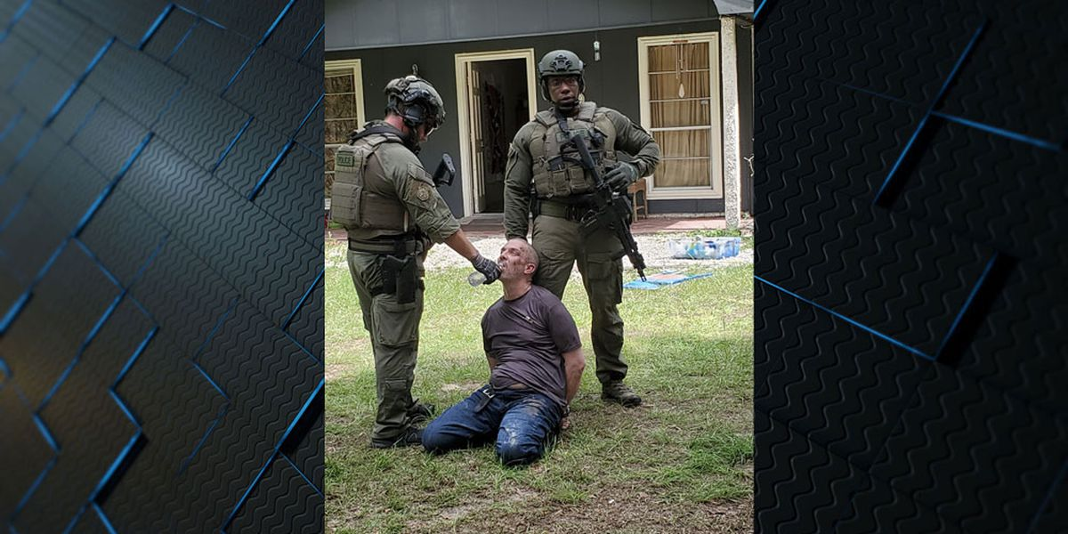 Man facing charges after standoff in Glynn County