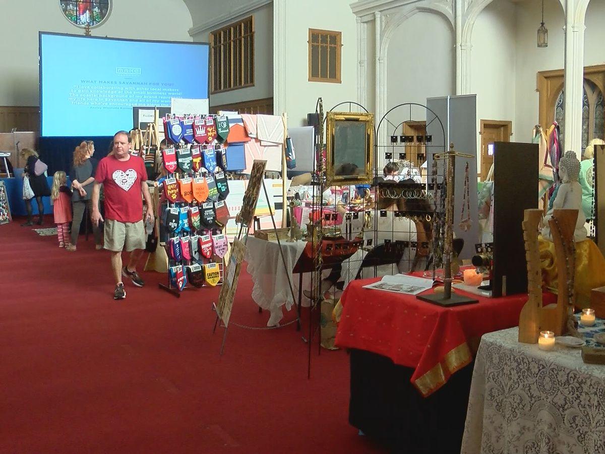 Starland District celebrates Make Savannah fall market
