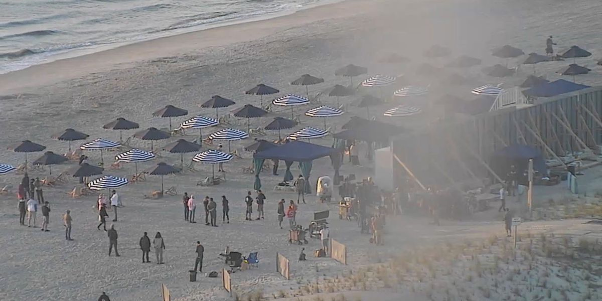 Filming causing limited access for portion of Tybee Beach