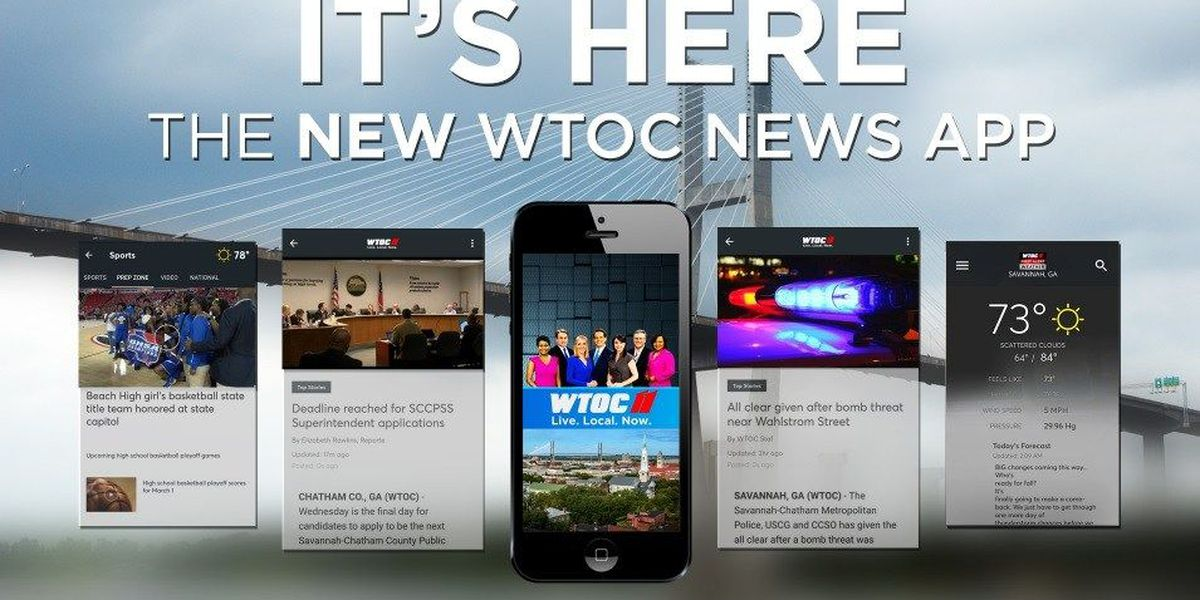 Download the WTOC NEWS APP