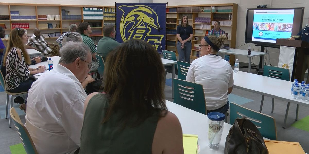 Beaufort County Board of Education holds public forum for 2019-20 budget