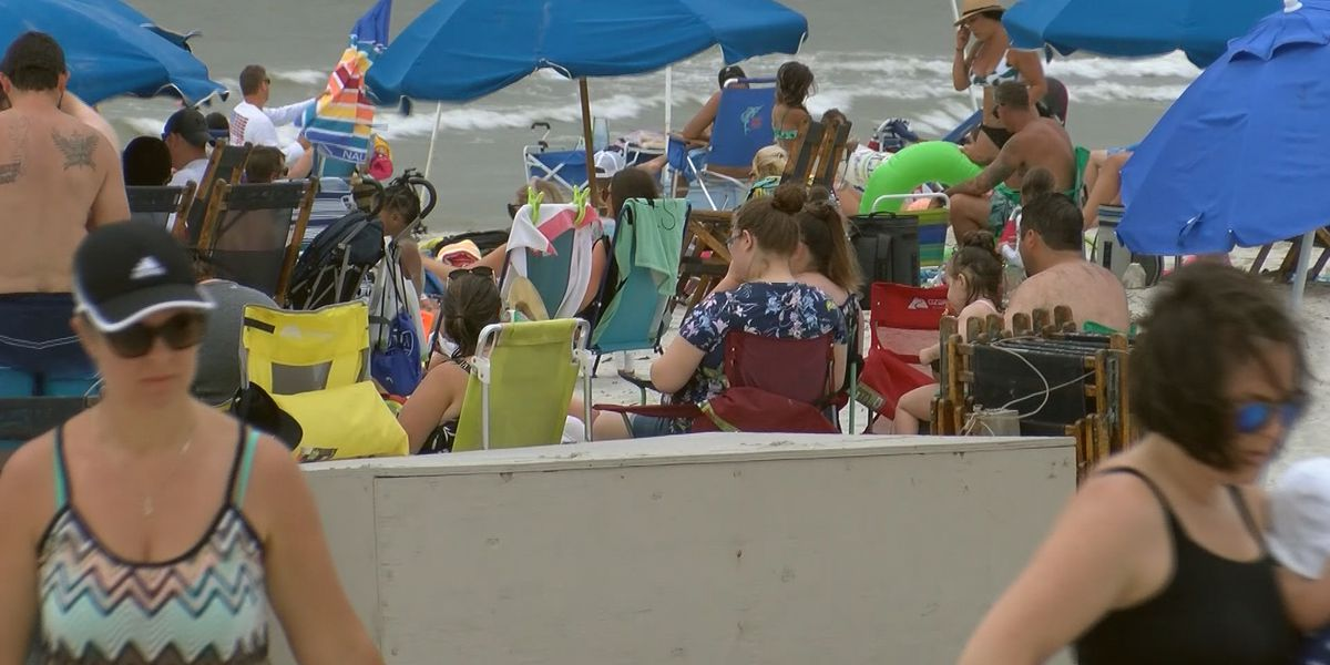Visitors to Hilton Head take precautions for Memorial Day