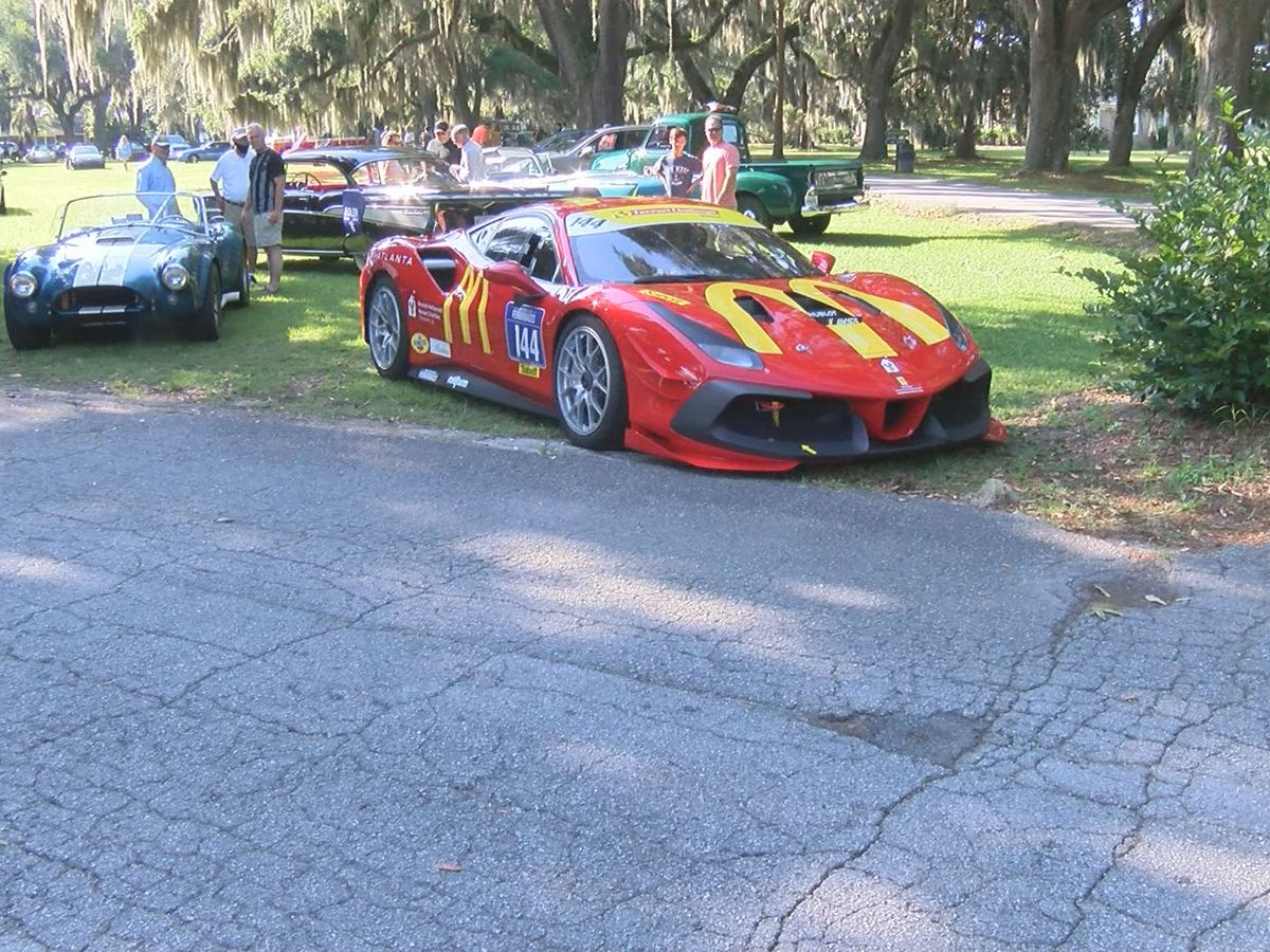 Oglethorpe Driving Club hosts car show at Bethesda Academy