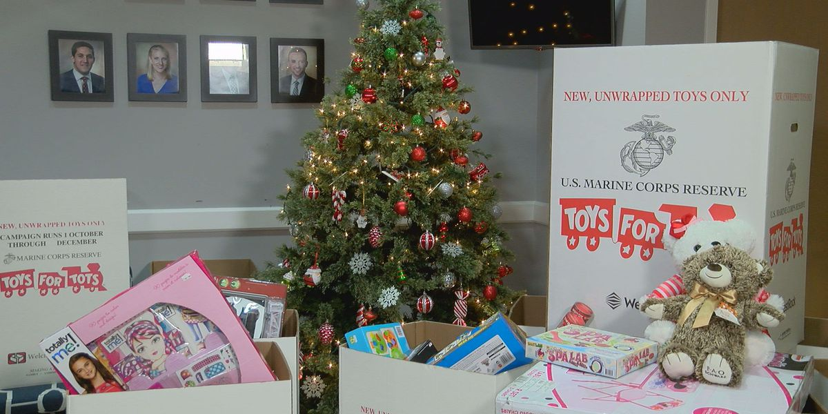 Stop by WTOC for our Toys for Tots donation drive