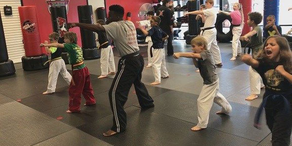 Don't Be a Victim: Self defense for kids