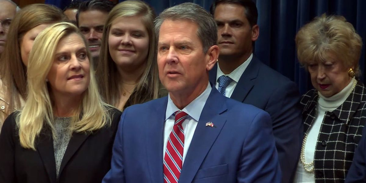 Governor Brian Kemp gives State of the State address