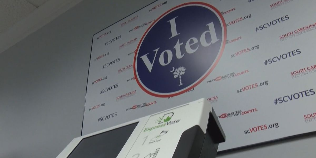 COVID-19 safety practices implemented at S.C. early voting locations