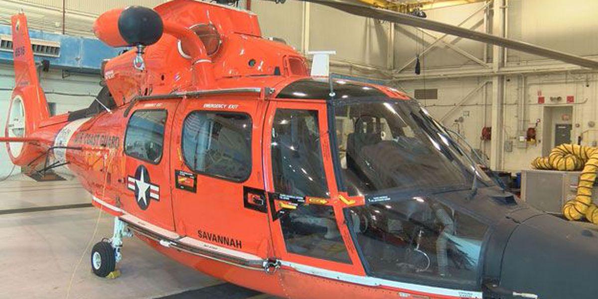 Green laser pointer interrupts Coast Guard training