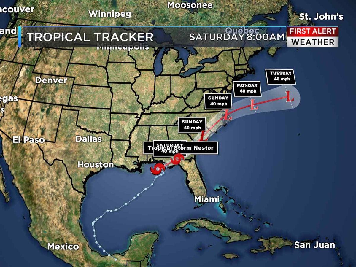 First Alert Weather Day: Nestor to bring widespread rain