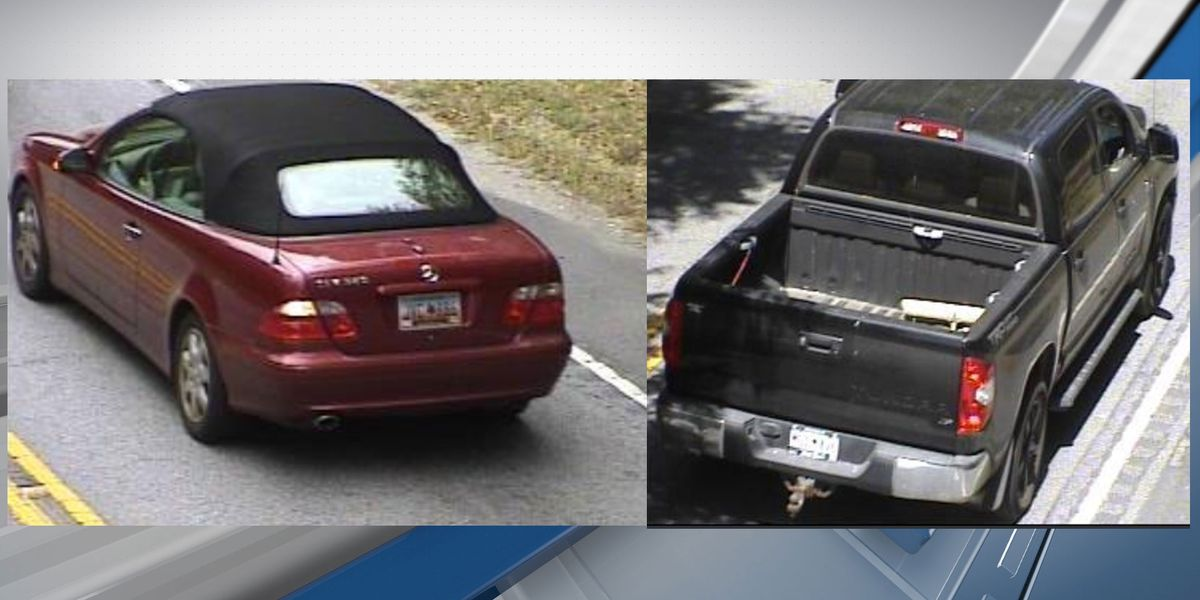 Deputies searching for 2 stolen vehicles from the Bluffton area