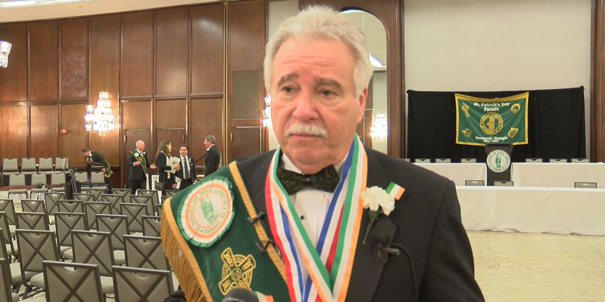 St. Patrick's Day Grand Marshal introduced at public investiture