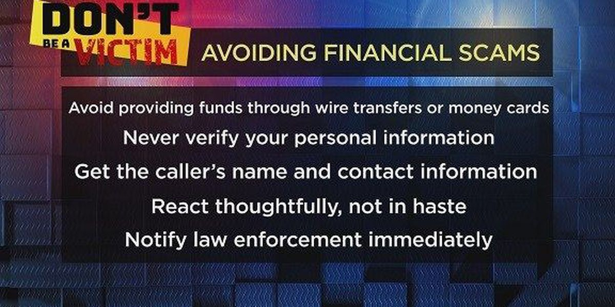 Don't Be a Victim: Tax time is scam time