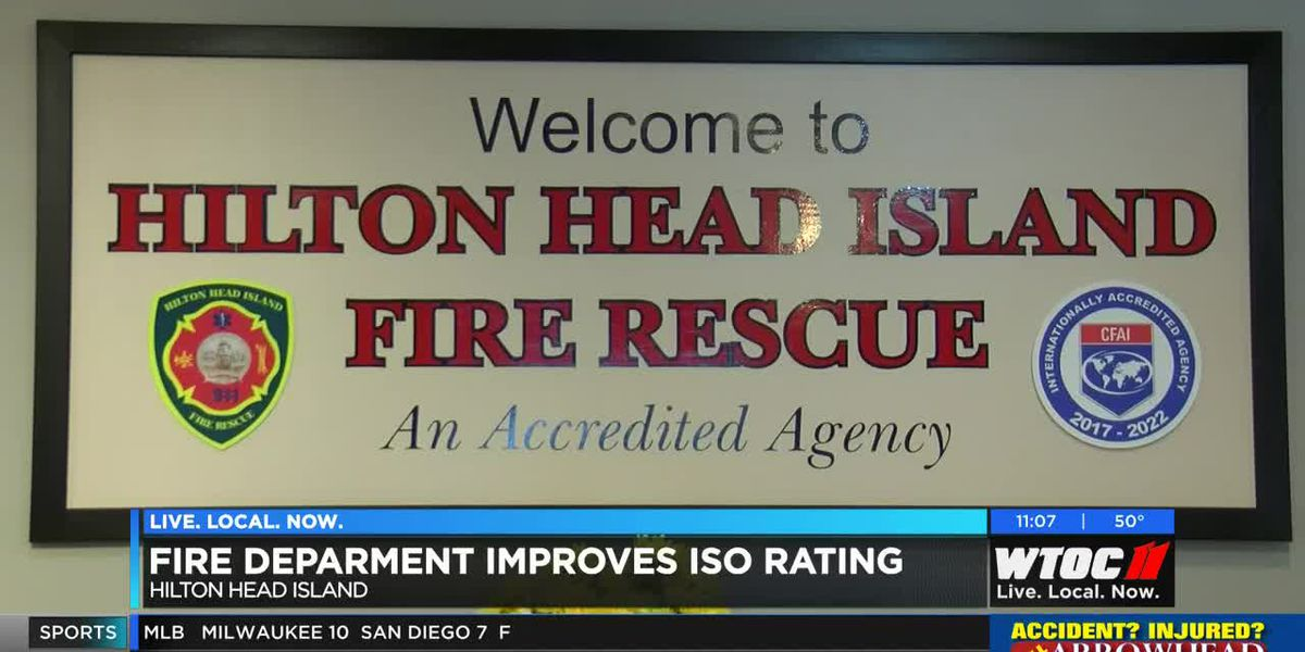 Hilton Head Island Fire Department improves ISO rating