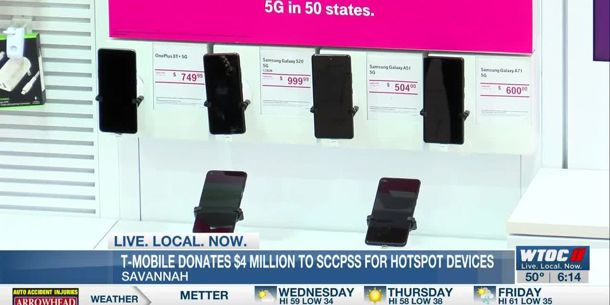 T-Mobile donates $4 million to SCCPSS for hotspot devices