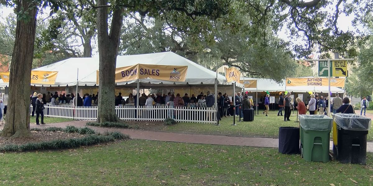 Thousands expected downtown for 2020 Savannah Book Festival