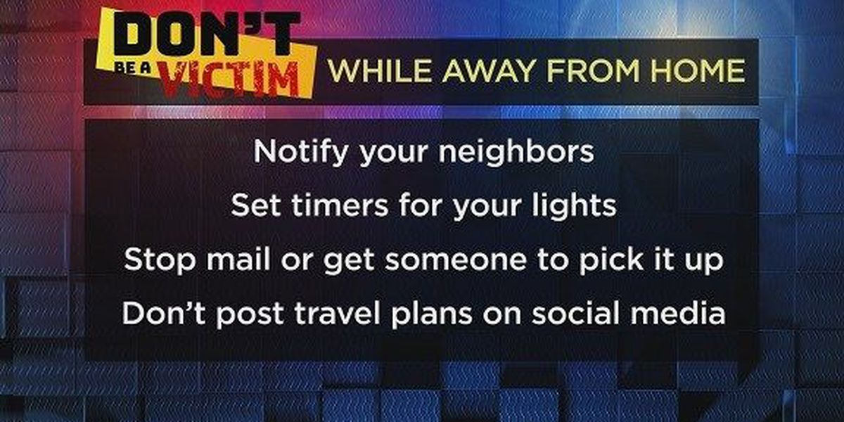 Don't Be a Victim: Vacation tips