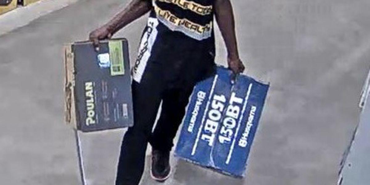 Savannah Police looking for Lowe's shoplifting suspect