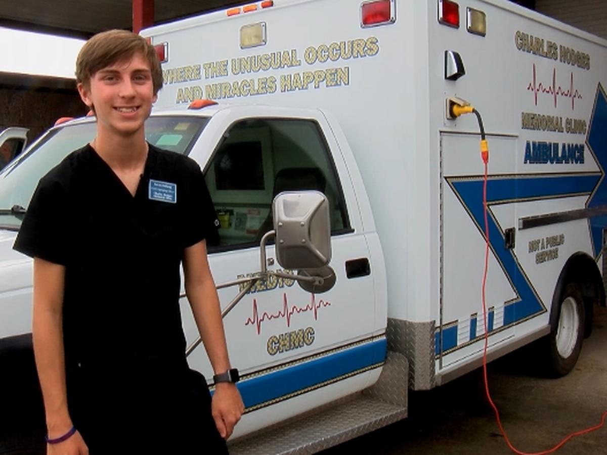 Effingham teen restores ambulance to educate, inspire