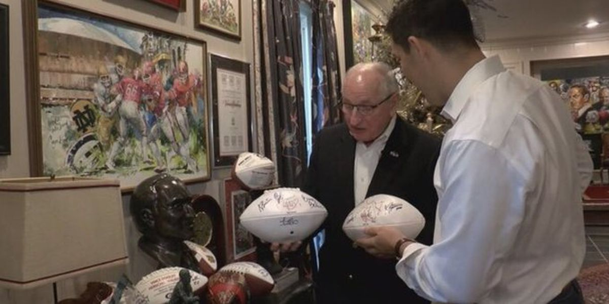 UGA to name football field after legendary coach Vince Dooley