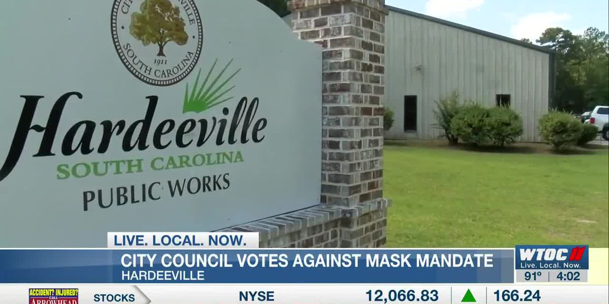 Hardeeville City Council votes not to enforce required mask ordinance