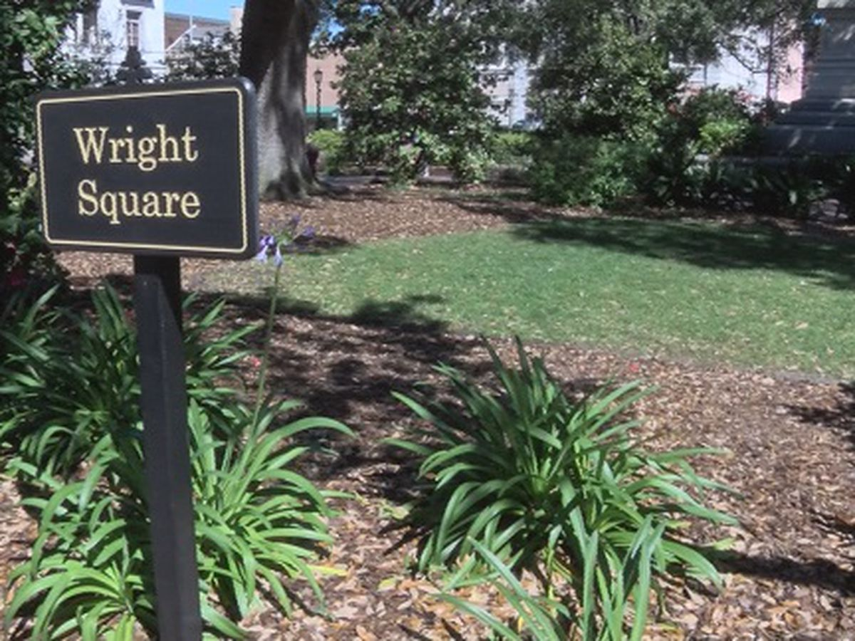 Good News: Parade-goers help clean up Wright Square