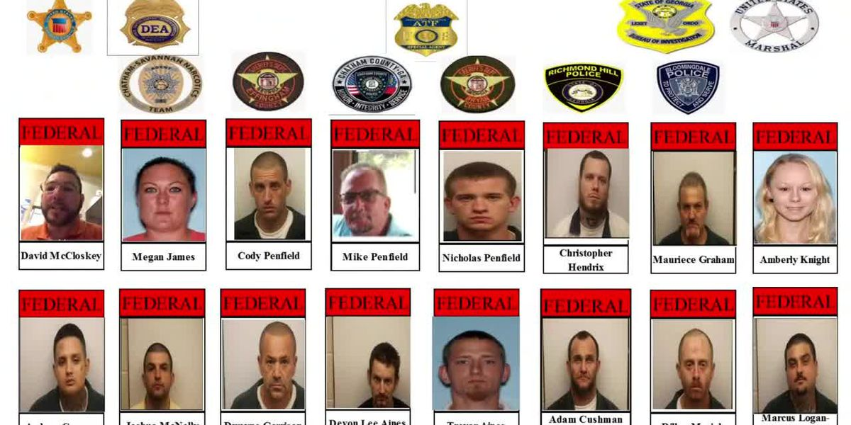43 accused gang members are facing federal charges for reportedly trafficking drugs through six counties in our area. Watch The News Now for the latest.