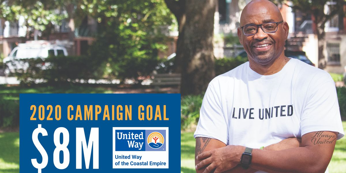 United Way of the Coastal Empire sets $8 million goal for 2020 fundraising campaign